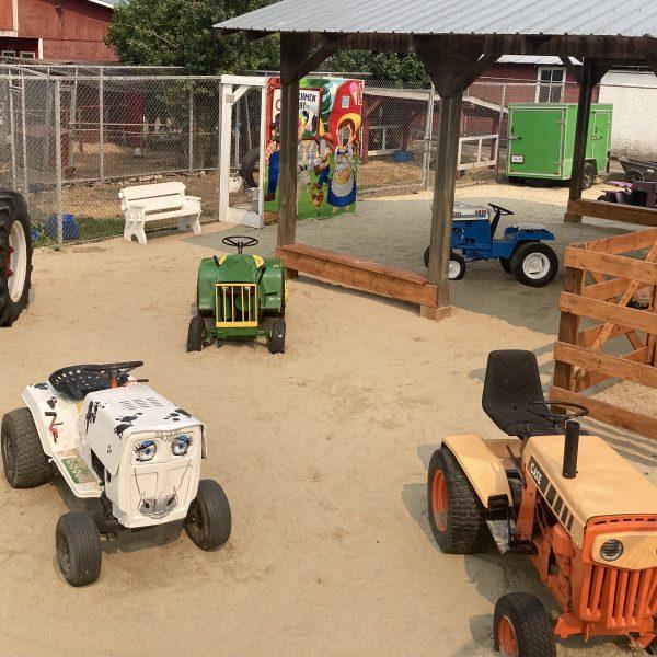 tractor town, D Dutchmen Dairy, Sicamous BC