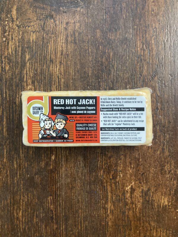 red hot jack, D Dutchmen Dairy, Sicamous BC