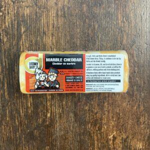 marble cheddar, D Dutchmen Dairy, Sicamous BC