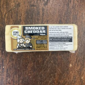 smoked cheddar, D Dutchmen Dairy, Sicamous BC