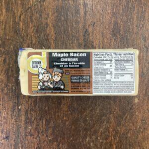 maple bacon cheddar, D Dutchmen Dairy, Sicamous BC