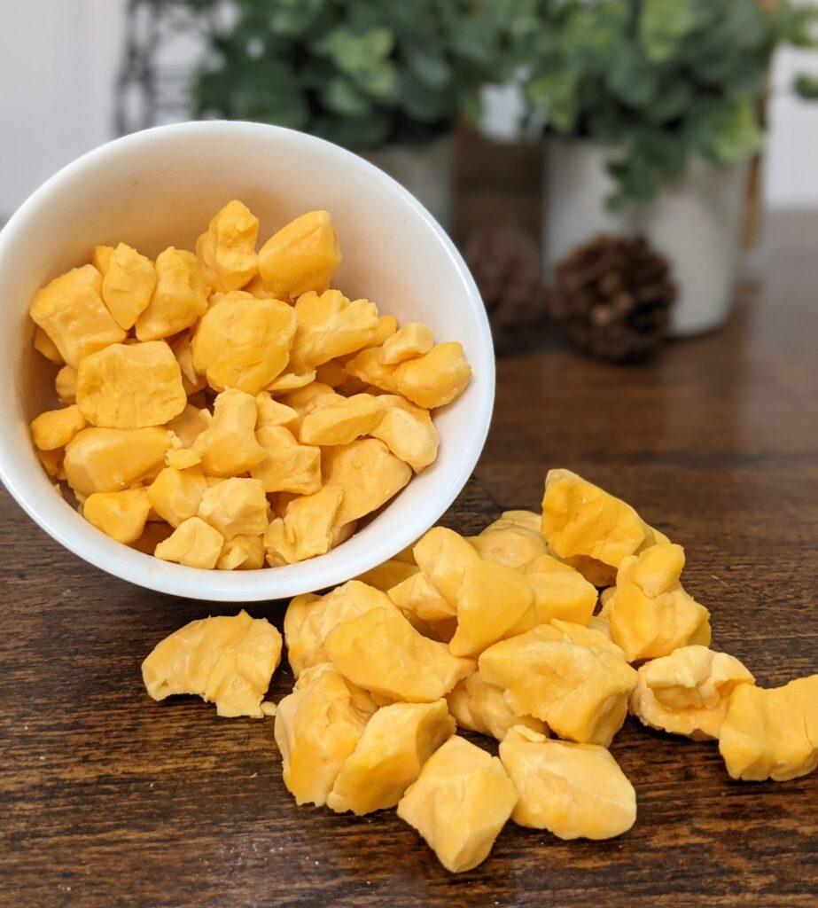 cheese curds, D Dutchmen Dairy, Sicamous BC